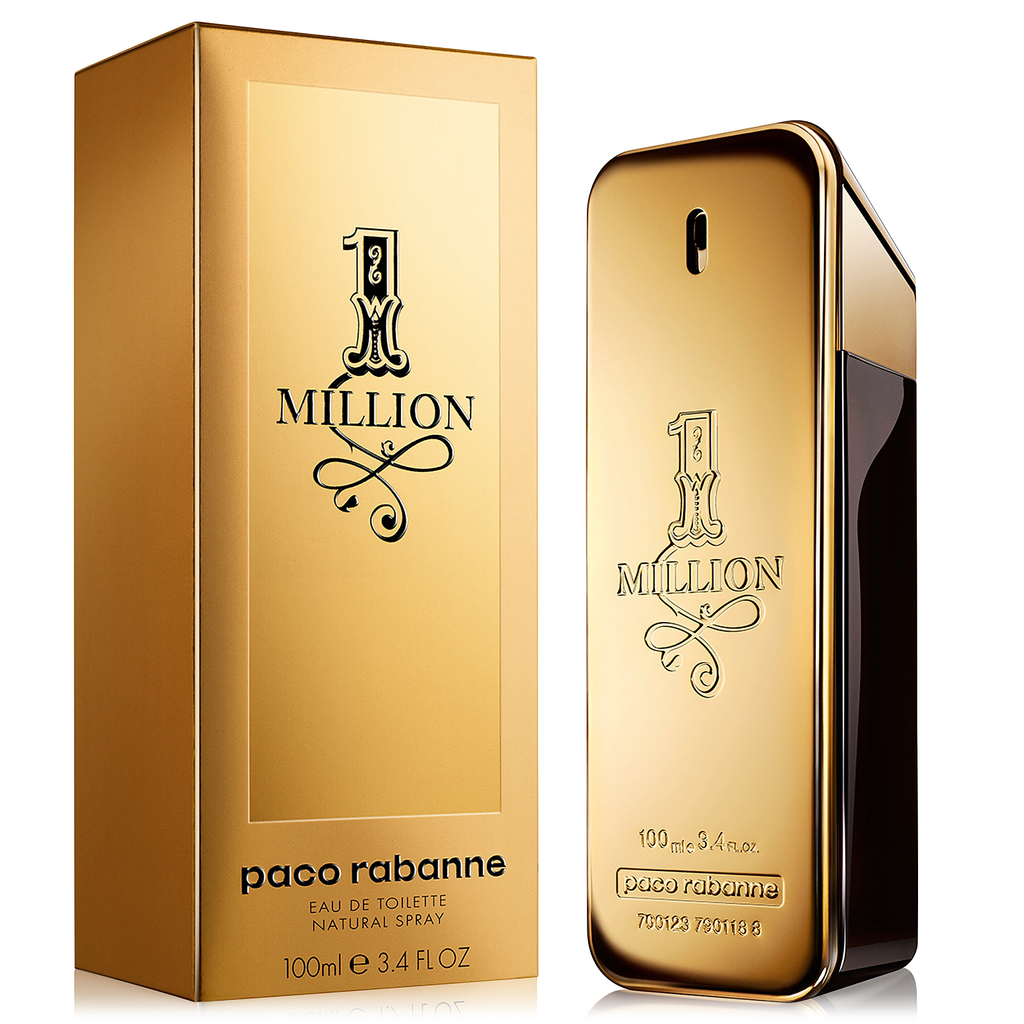 9502f0fa74822 One Million by Paco Rabanne 100ml EDT