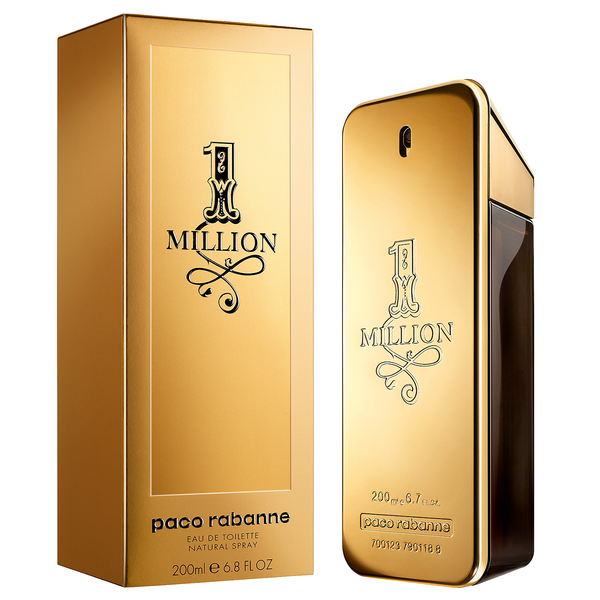 One Million by Paco Rabanne 200ml EDT