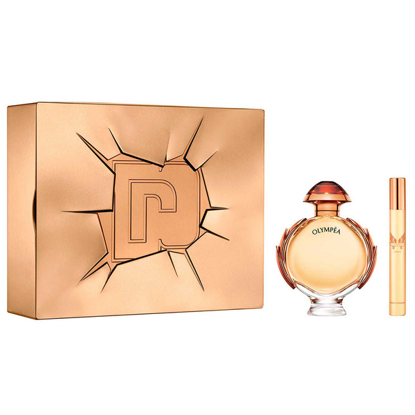 Olympea Intense by Paco Rabanne 80ml EDP 2pc Gift Set