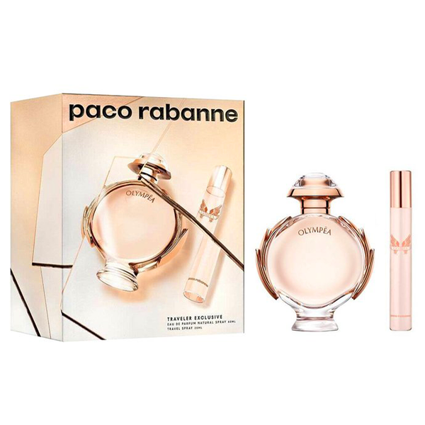 Olympea by Paco Rabanne 80ml EDP 2 Piece Gift Set