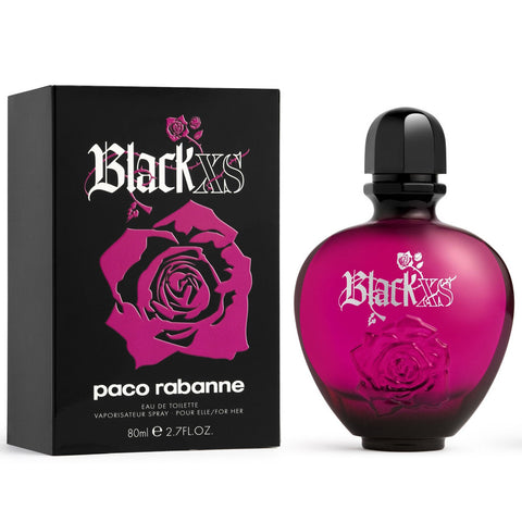 Black XS by Paco Rabanne 80ml EDT for Women