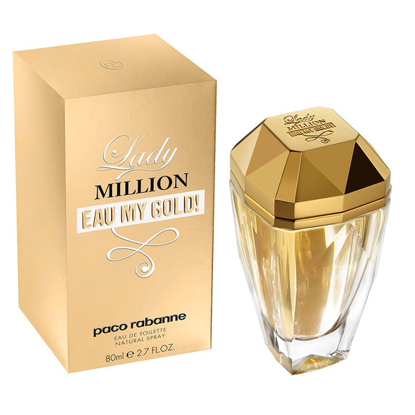 Lady Million Eau My Gold! by Paco Rabanne 80ml EDT