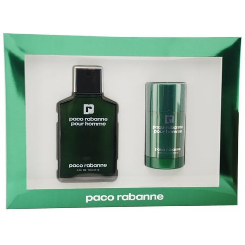 Paco Rabanne Pour Homme 100ml EDT 2 Piece Gift Set