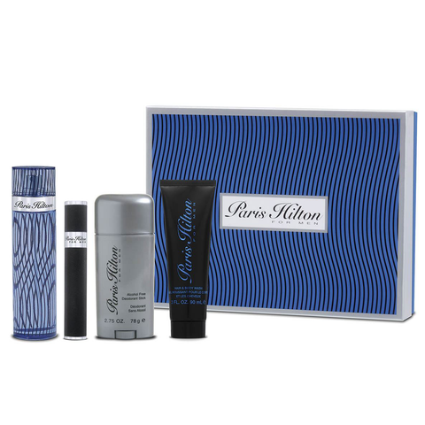 Paris Hilton for Men 100ml EDT 4 Piece Gift Set