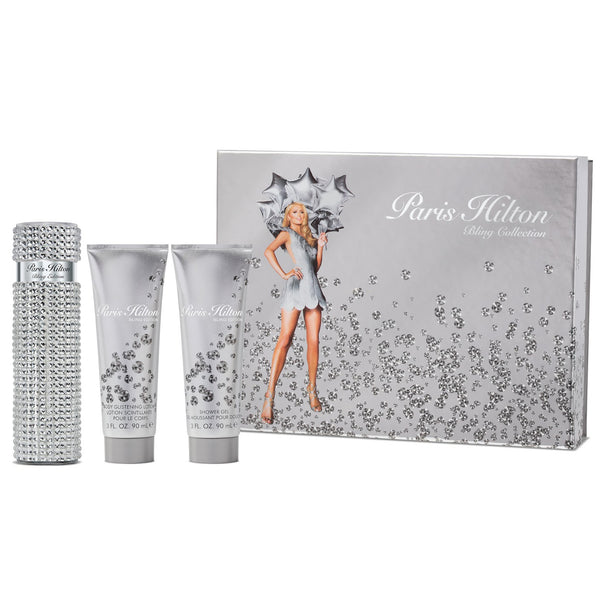 Paris Hilton Bling Collection 100ml Parfum 3 Piece Gift Set