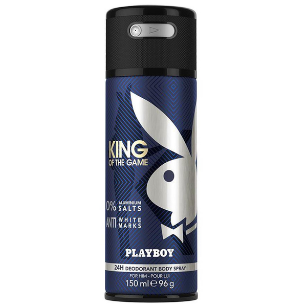 King Of The Game by Playboy 150ml Deodorant Body Spray