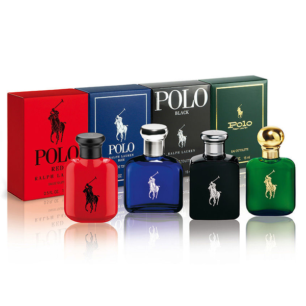 Polo Collection by Ralph Lauren 4 Piece Gift Set for Men
