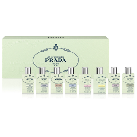 Les Infusions De Prada Collection 8 Piece Gift Set