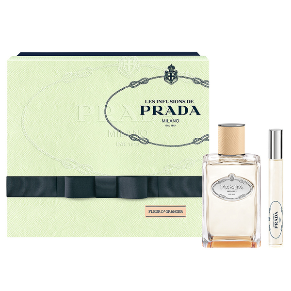 Infusion De Fleur d'Oranger by Prada 100ml EDP 2 Piece Gift Set
