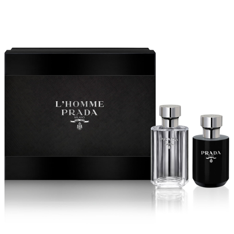 L'Homme Prada by Prada 100ml EDT 2 Piece Gift Set