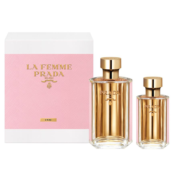 La Femme L'Eau by Prada 100ml EDT 2 Piece Gift Set