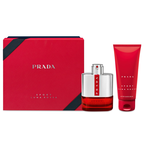 Prada Luna Rossa Sport by Prada 100ml EDT 2 Piece Gift Set