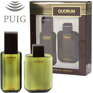 Quorum by Antonio Puig 100ml EDT 2 Piece Gift Set