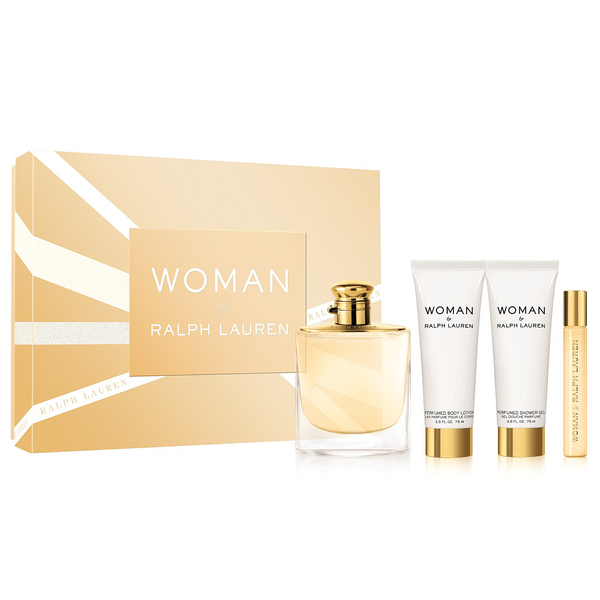 Woman by Ralph Lauren 100ml EDP 4 Piece Gift Set