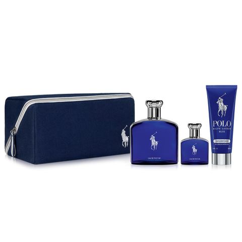 Polo Blue by Ralph Lauren 125ml EDP 4 Piece Gift Set