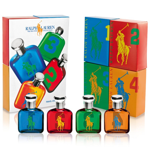 Big Pony Collection by Ralph Lauren 4 Piece Gift Set
