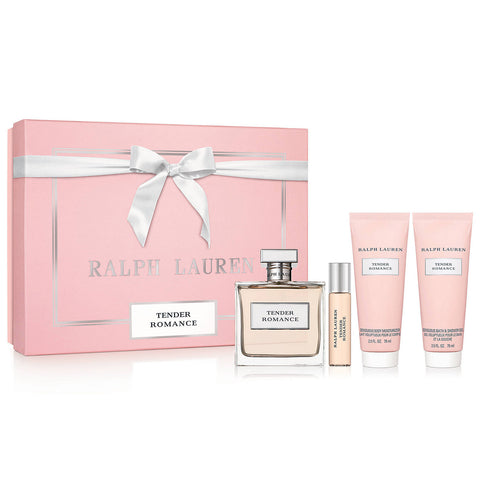 Tender Romance by Ralph Lauren 100ml EDP 4pc Gift Set