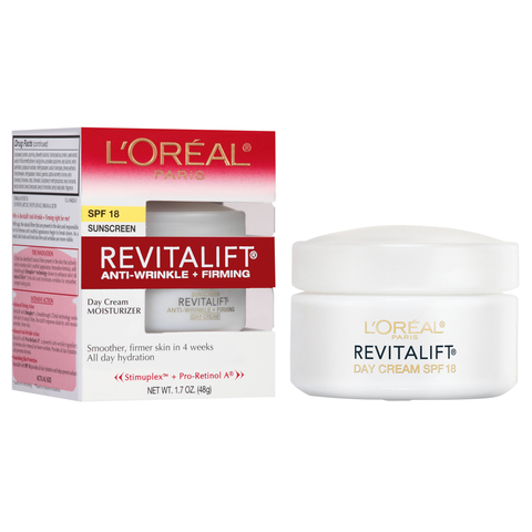 L'Oreal Paris Revitalift Anti-Wrinkle + Firming Day Cream SPF 18, 48g