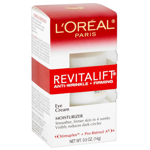 L'Oreal Paris Revitalift Anti-Wrinkle + Firming Eye Cream 0.5 oz, 14g