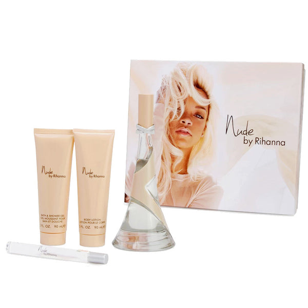 Nude by Rihanna 100ml EDP 4 Piece Gift Set