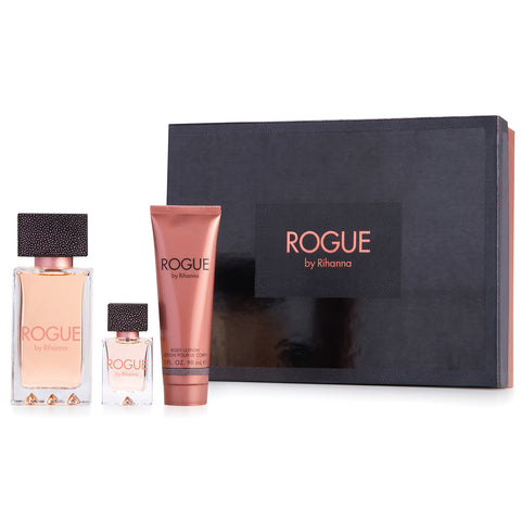 Rogue by Rihanna 125ml EDP 3 Piece Gift Set