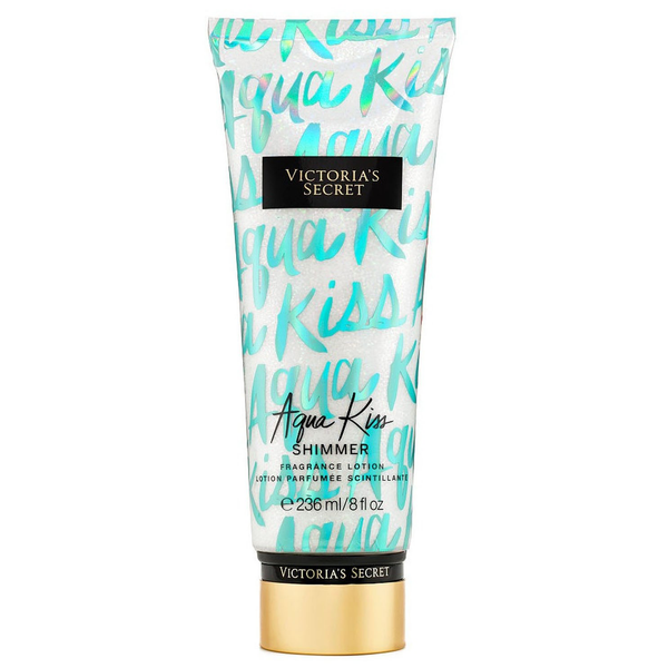 Aqua Kiss Shimmer by Victoria's Secret 236ml Fragrance Lotion