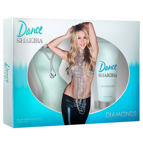 Dance Diamonds by Shakira 80ml EDT 2 Piece Gift Set