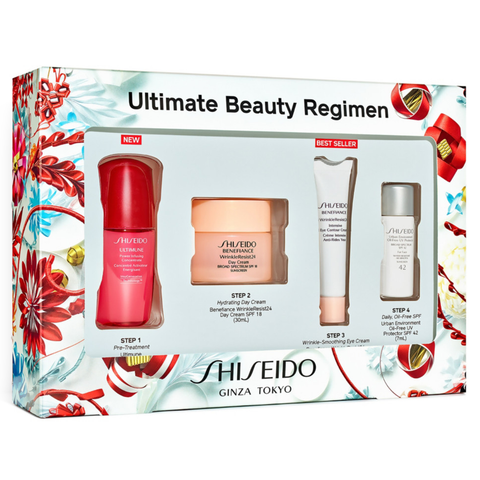 Shiseido Ultimate Beauty Regimen 4 Piece Set