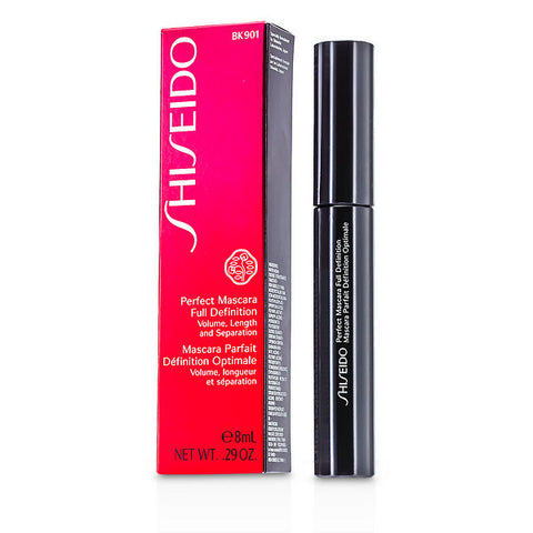 SHISEIDO Perfect Mascara Full Definition BK901 Black - Smudgeproof