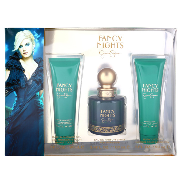 Fancy Nights by Jessica Simpson 100ml EDP 3 Piece Gift Set