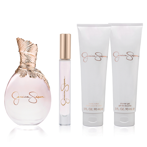 Signature by Jessica Simpson 100ml EDP 4 Piece Gift Set