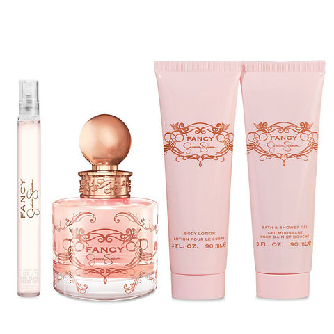 Fancy by Jessica Simpson 100ml EDP 4 Piece Gift Set