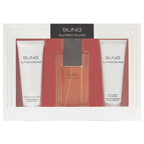 Sung by Alfred Sung 100ml EDT 3 Piece Gift Set