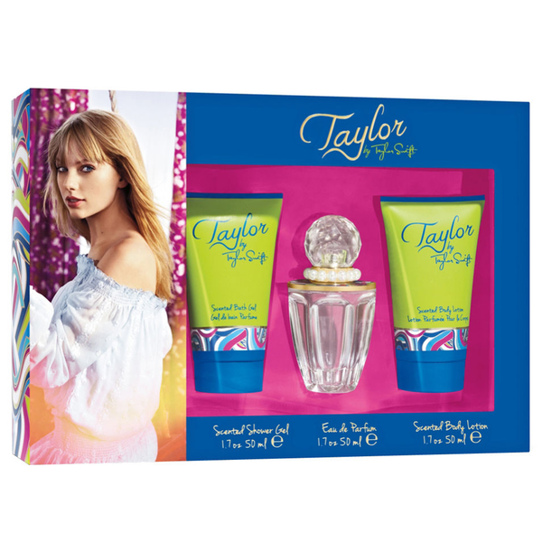 Taylor by Taylor Swift 50ml EDP 3 Piece Gift Set