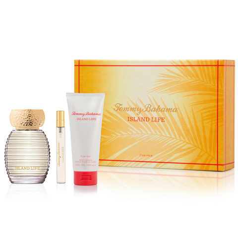 Island Life by Tommy Bahama 100ml EDP 3 Piece Gift Set