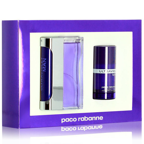 Ultraviolet by Paco Rabanne 100ml EDT 2 Piece Gift Set