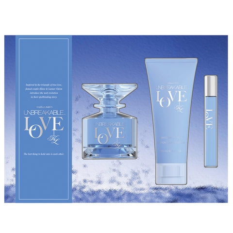Unbreakable Love 100ml EDT 3 Piece Gift Set