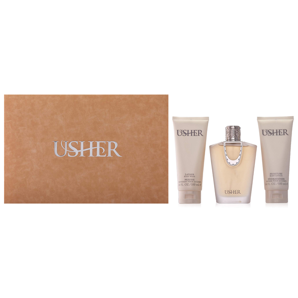 Usher by Usher 100ml EDP 3 Piece Gift Set