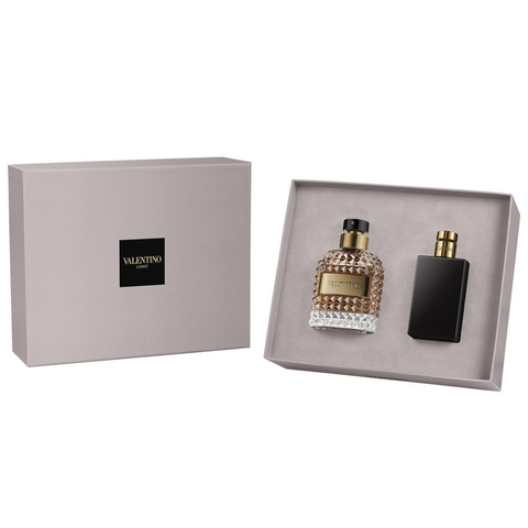 Valentino Uomo by Valentino 100ml EDT 2 Piece Gift Set