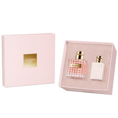 Valentino Donna by Valentino 100ml EDP 2 Piece Gift Set