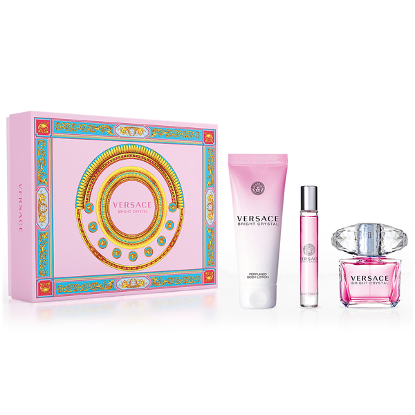 Bright Crystal by Versace 90ml EDT 3 Piece Gift Set