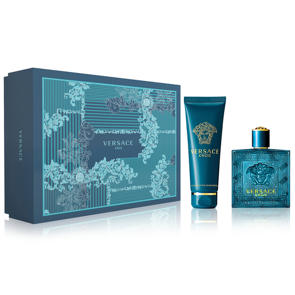 Versace Eros by Versace 100ml EDT 2 Piece Gift Set
