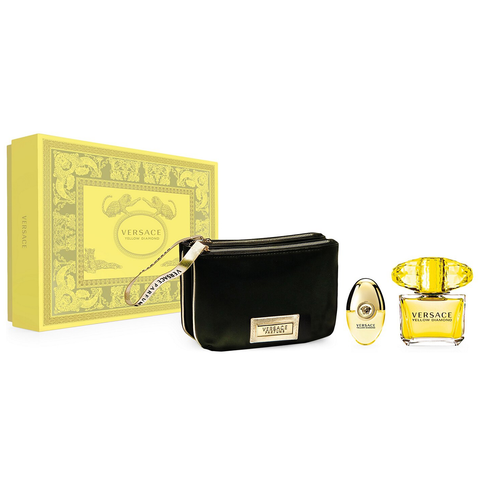 Yellow Diamond by Versace 90ml EDT 3 Piece Gift Set