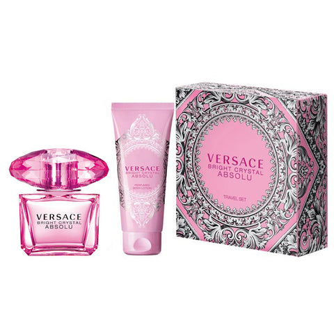 Versace Bright Crystal Absolu 90ml EDP 2 Piece Gift Set