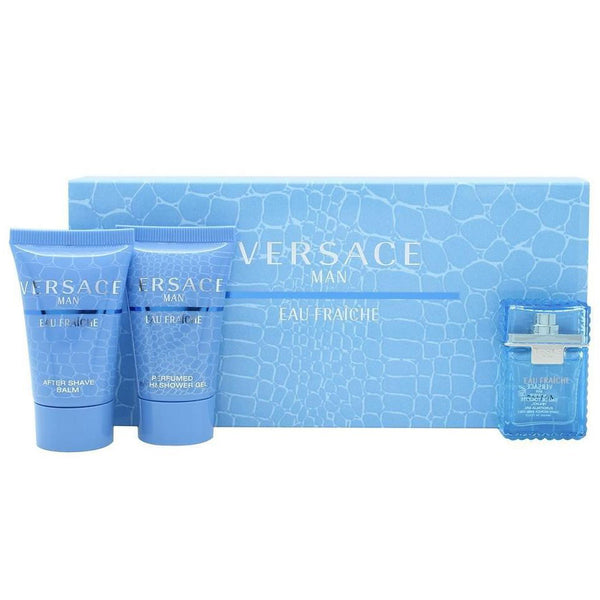 Versace Man Eau Fraiche 5ml EDT 3 Piece Gift Set