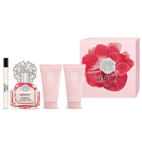 Amore by Vince Camuto 100ml EDP 4 Piece Gift Set