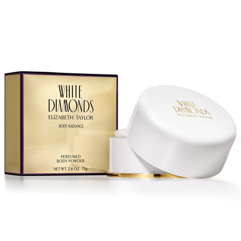 White Diamonds by Elizabeth Taylor 75g Body Powder