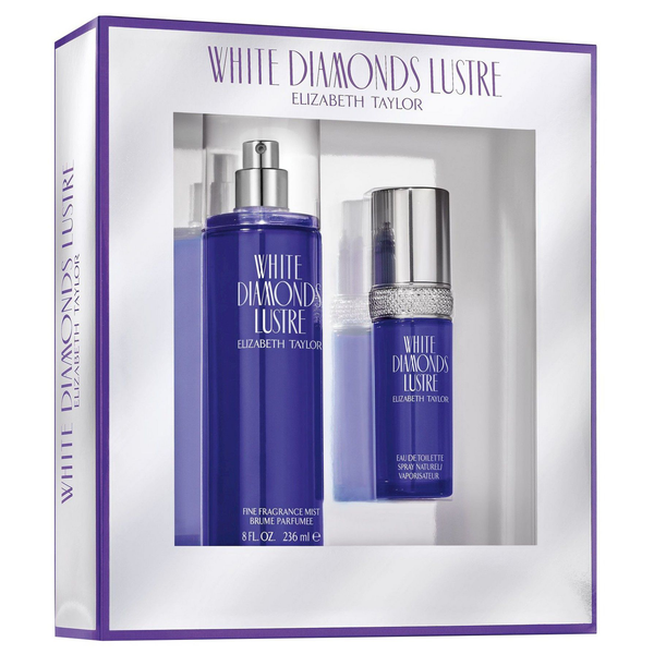 White Diamonds Lustre by Elizabeth Taylor 30ml EDT 2 Piece Gift Set