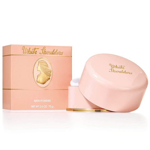 White Shoulders by Elizabeth Arden 75g Bath Powder