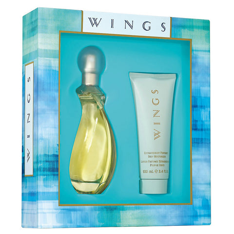 Wings by Giorgio Beverly Hills 90ml EDT 2 Piece Gift Set